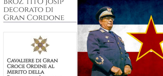 Josip Broz Tito Cavaliere Repubblica italiana