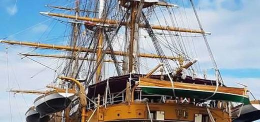nave veliero Amerigo Vespucci Trieste