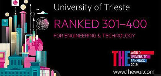 Università di Trieste ranked 2018