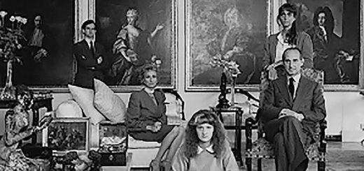 una famiglia fiorentina ritratta da Patrick Faigenbaum courtesy dell'artista