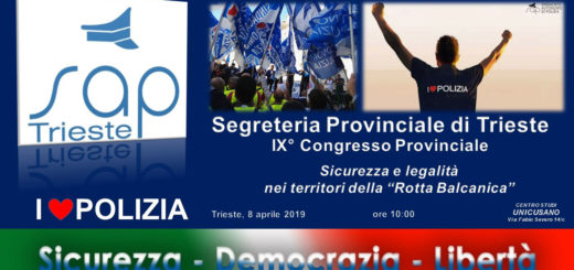 convegno - congresso provinciale del Sap Trieste