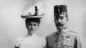 Francesco Ferdinando e Sofia di Hohenberg