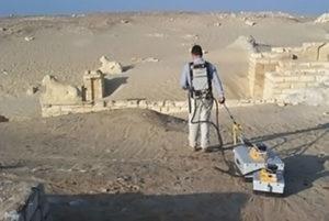 Geofisica per l'archeologia: misure nel sito di Medinet-Madi (Egitto)