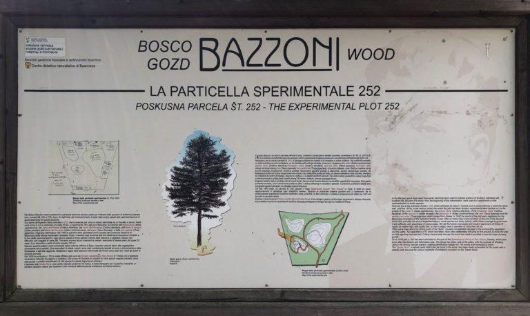 Cartello Bosco Bazzoni
