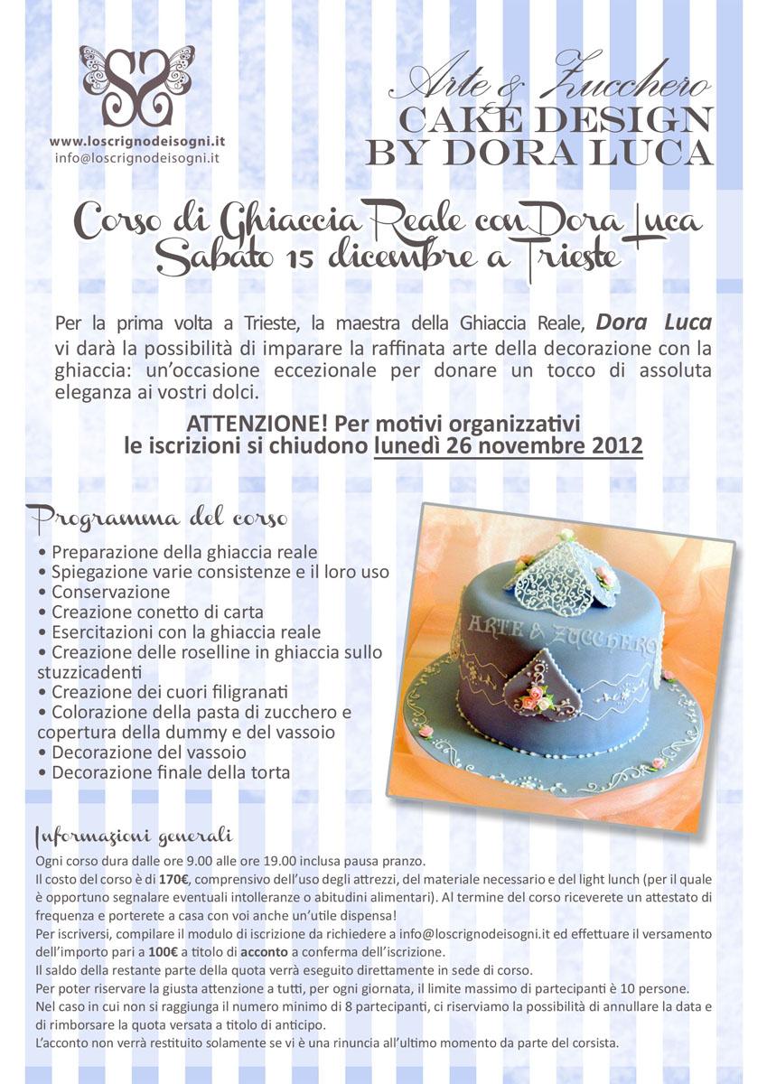 Arte E Zucchero Cake Design By Dora Luca : Trieste Prossimamente corsi di Cake Design
