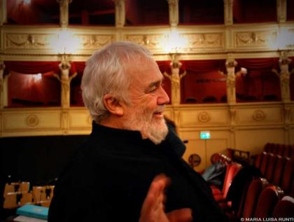 Maestro Gianluigi Gelmetti - foto Maria Luisa Runti