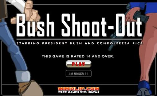 bush shoot up