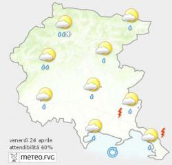 cartina meteo 24-04-2015