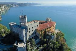 castello di duino dall alto