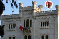 castello miramar facciata