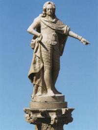 imperatore carlo 6 in piazza unita