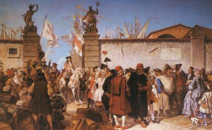 proclamazione porto franco trieste