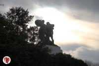 San Giusto - Trieste - scultura in controluce