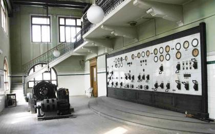 sottostazione elettrica trieste ingresso