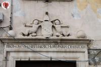 via del Castello (Trieste) particolare casa