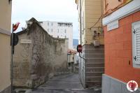 Trieste - via delle Monache angolo via delle Scuole