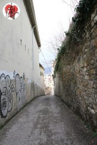 via delle Monache - San Giusto (Trieste)