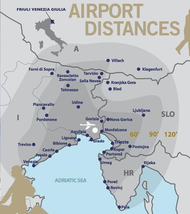 Aeroporto Ronchi : Trieste l aeroporto fvg di ronchi dei legionari