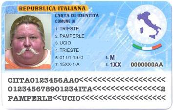 Where do you keep your carta d 39 identit italy for Numero di politici in italia