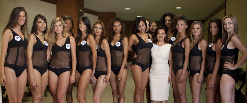 Le ragazze di Miss Umbria 2015 -