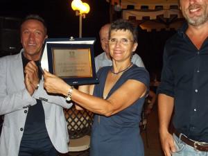 Lucia Sambo premio Sossi infermiere dell'anno