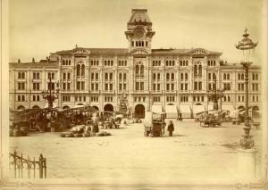 piazza Unità antica Trieste