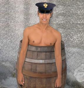 poliziotto senza divisa