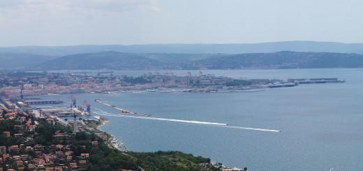 Trieste golfo e porto