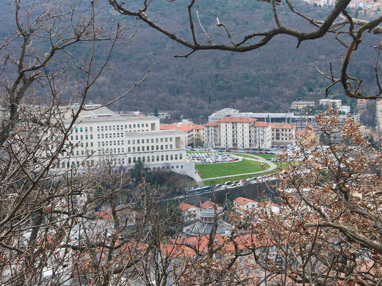 Università di Trieste - vista laterale