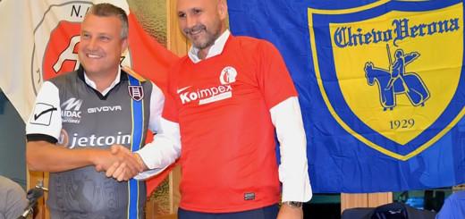 Goran Kocman e Cristian Cantarelli - Kras e Chievo
