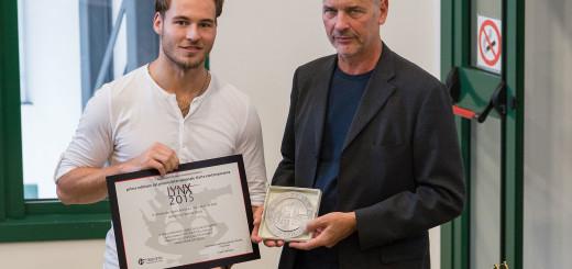 LYNX 2015 - Federico Sciuca premiato dall'Assessore Tassinari