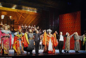 Turandot applausi
