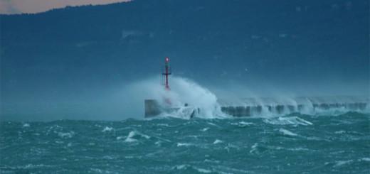 Bora forte Golfo di Trieste