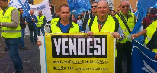 SAP manifestazione dignità vendesi
