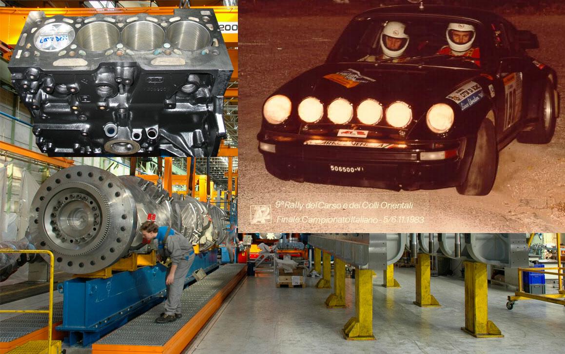 Trieste elaborazione motori, rally, grandi motori