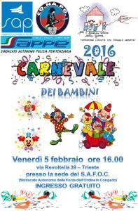 160123-Carnevale dei Bambini 2016-Locandina
