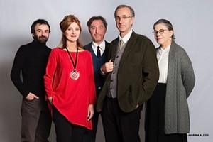 MARINA MASSIRONI, ROBERTO CITRAN, LUISA DE SANTIS, GIANCARLO RATTI E ARAM KIAN