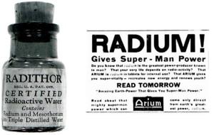 Radithor acqua radioattiva