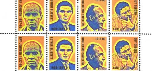 Piermario Ciani 4 of My Dead Masters francobolli
