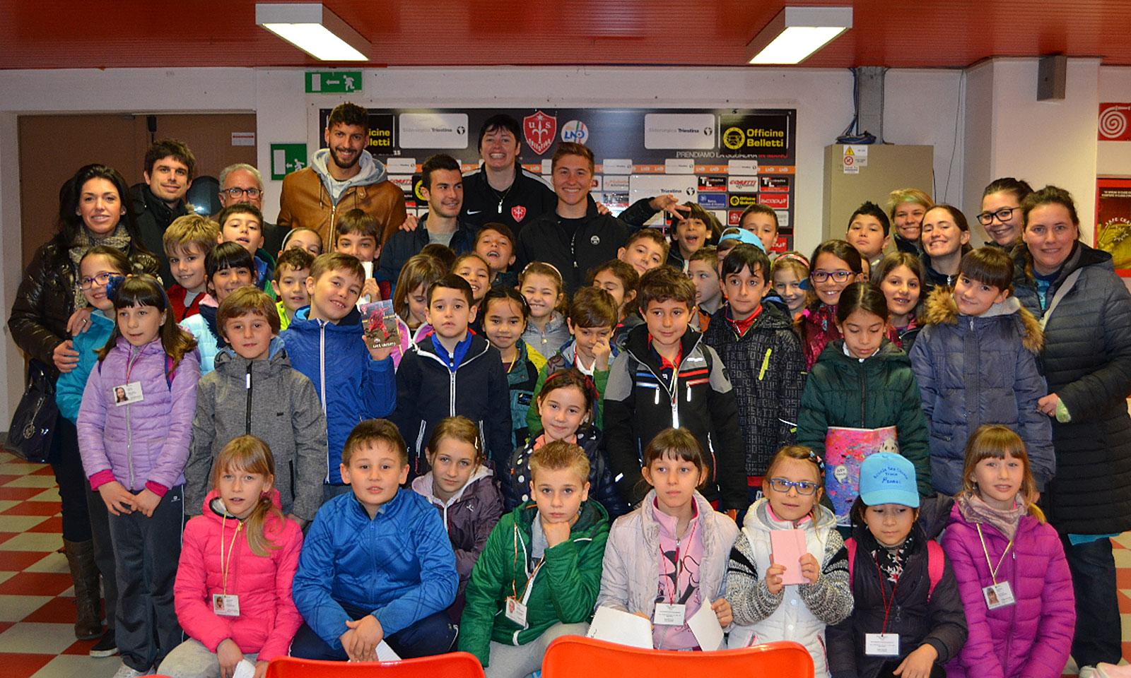 Scuola San Giusto Martire Trieste al Nereo Rocco