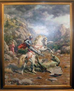 Sergio Budicin cavalli cavalieri e battaglie