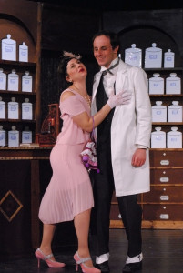 Giulia Perco e Alexsander Sovic Gruppo Porposte Teatrali in Ocio de Soto