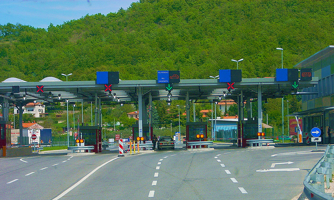 confine Slovenia Croazia