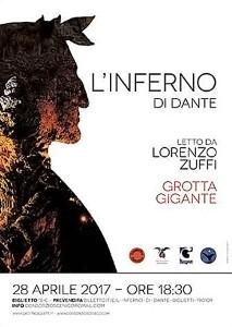 L'inferno di Dante in Grotta Gigante