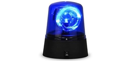 luce blu Polizia Sap