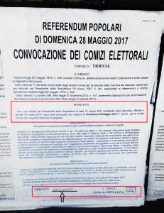 comunicato referendum fantasma