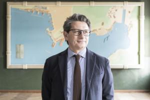 2016, TRIESTE, ITALY. Zeno D'Agostino, Presidente Autorità di Sistema Portuale del Mare Adriatico Orientale – Porto di Trieste. © FABRIZIOGIRALDI