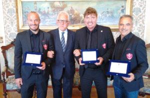 delegazione calcio Triestina Comune di Trieste