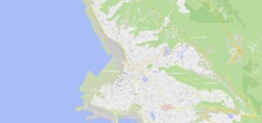 mappa di Trieste miniatura