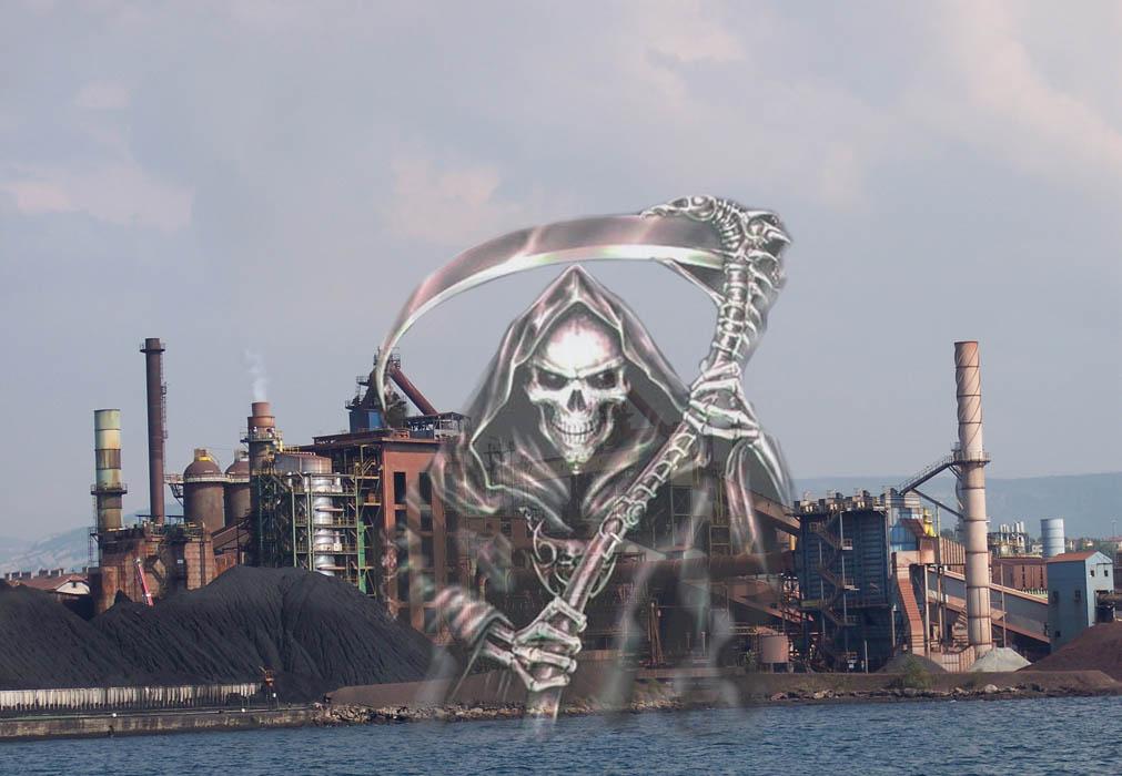 Ferriera di Trieste Servola inquinamento morte